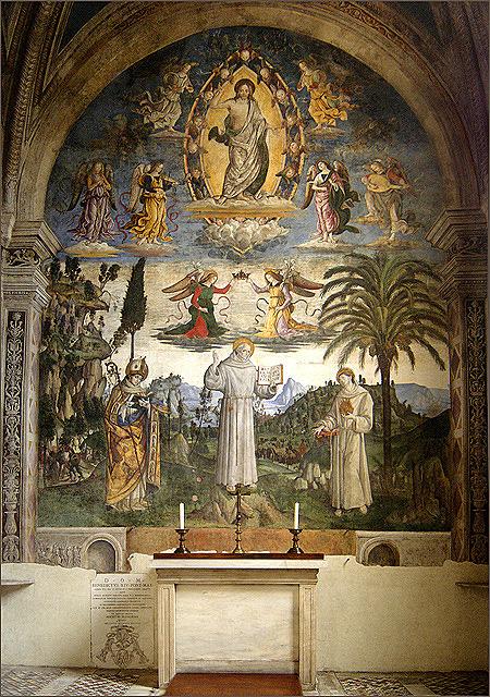 圣贝纳迪诺小堂中央壁画