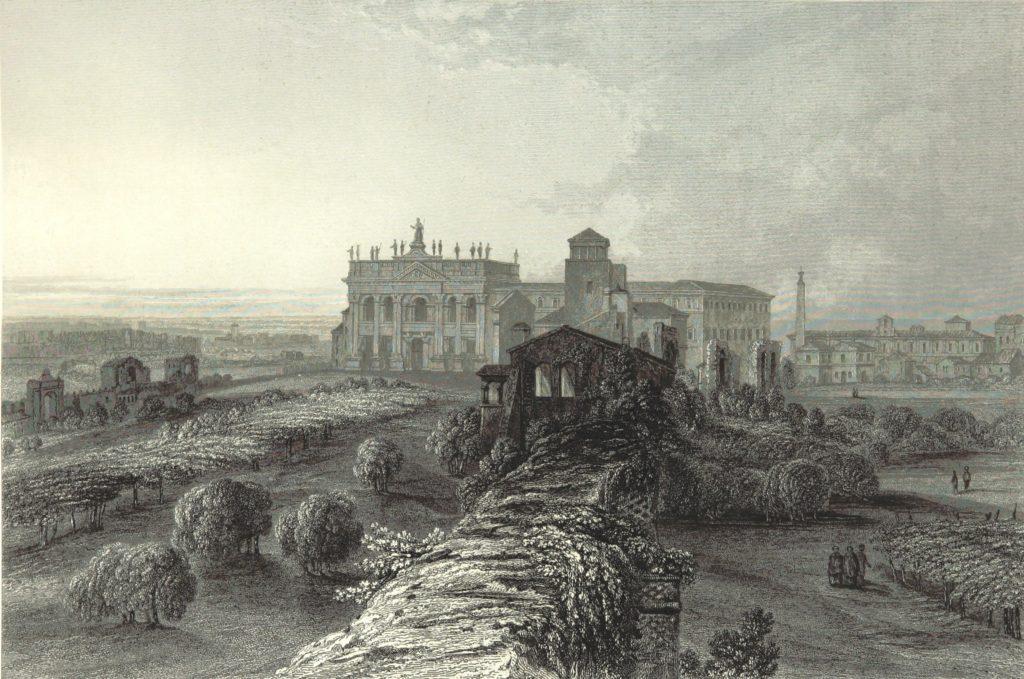 在1864年出版物中的拉特朗大殿