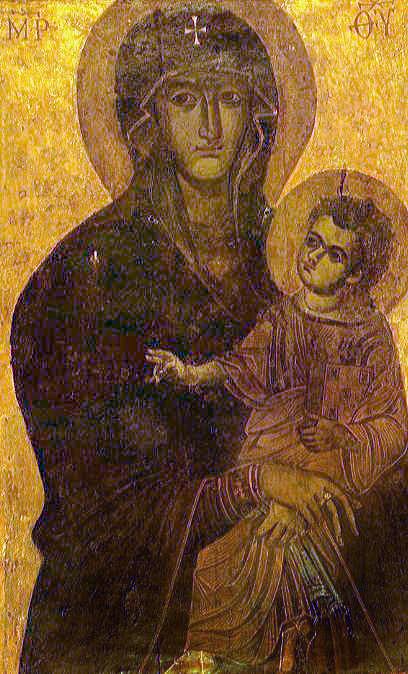 《罗马人民救援之母》像