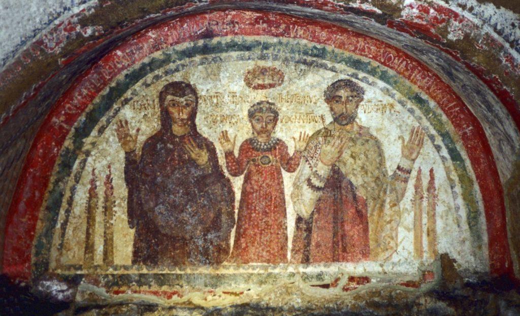 圣雅纳略罗地窟壁画catacombe di San Gennaro,那不勒斯