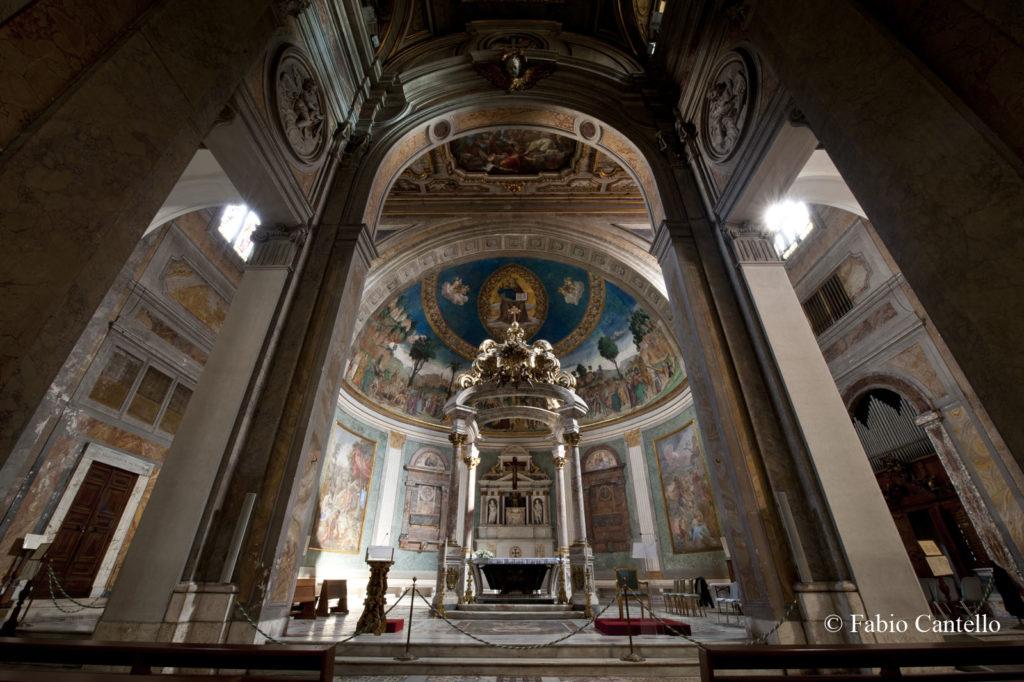 耶路撒冷圣十字架大殿祭台
