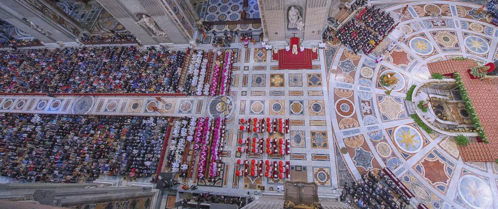vespri in basilica san pietro