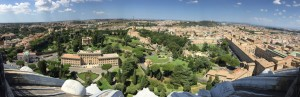 梵蒂冈花园鸟瞰